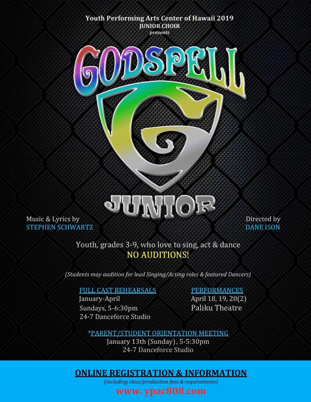 Godspell Jr. 2019 REVISED FLYER.jpg